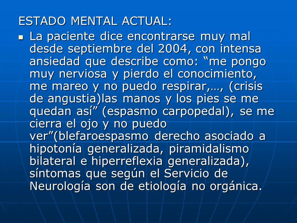 ESTADO MENTAL ACTUAL: