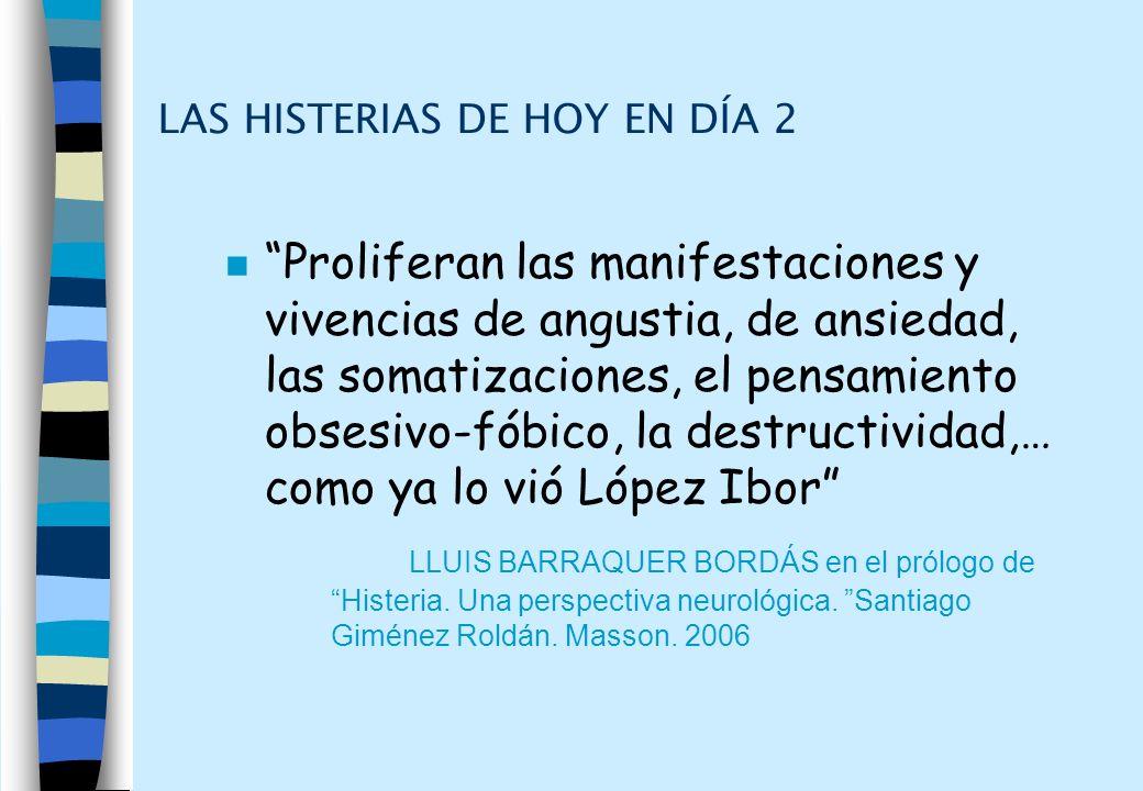 LAS HISTERIAS DE HOY EN DÍA 2
