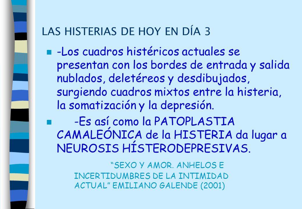 LAS HISTERIAS DE HOY EN DÍA 3