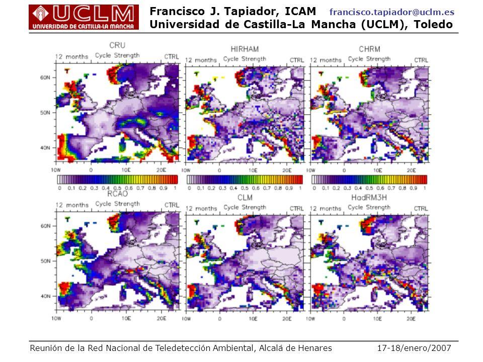 Reunión de la Red Nacional de Teledetección Ambiental, Alcalá de Henares 17-18/enero/2007