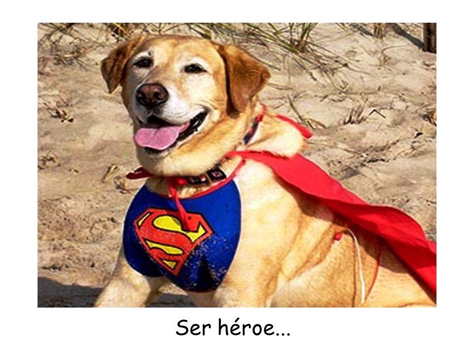Ser héroe...