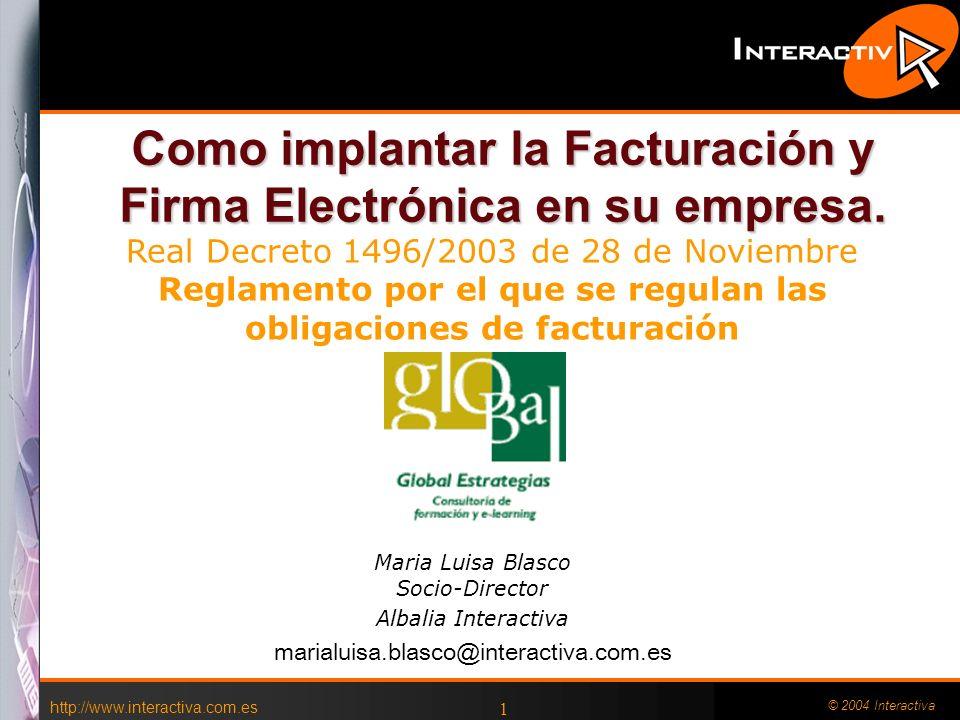 Como implantar la Facturación y Firma Electrónica en su empresa.