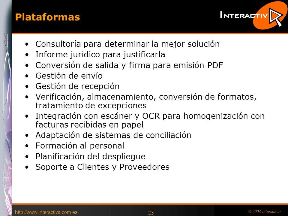 Plataformas Consultoría para determinar la mejor solución