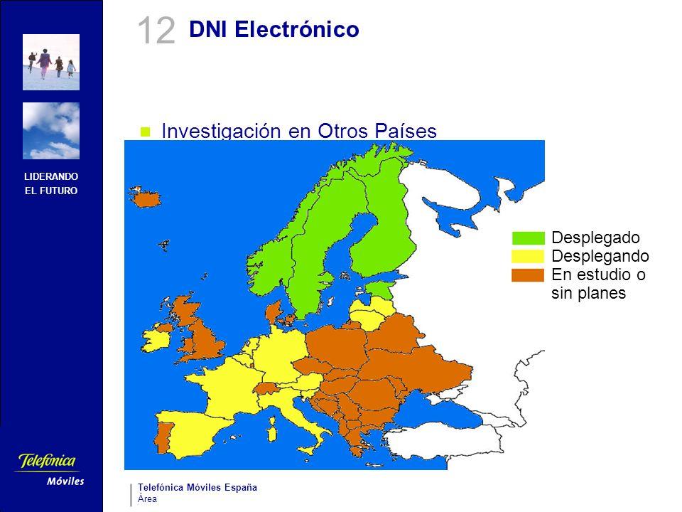12 DNI Electrónico Investigación en Otros Países Desplegado