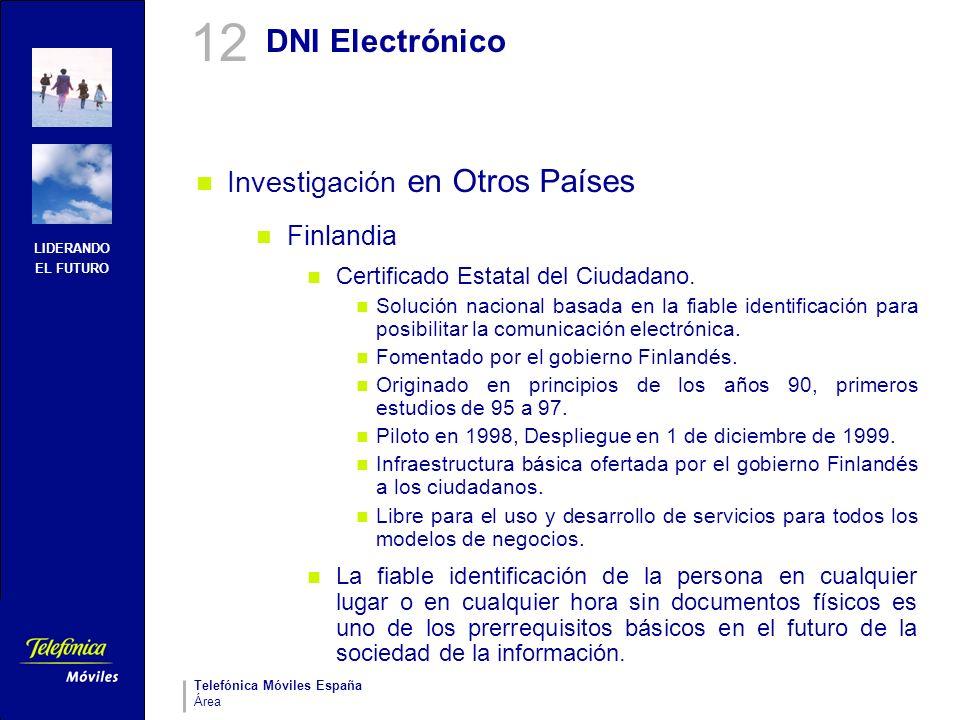 12 DNI Electrónico Investigación en Otros Países Finlandia