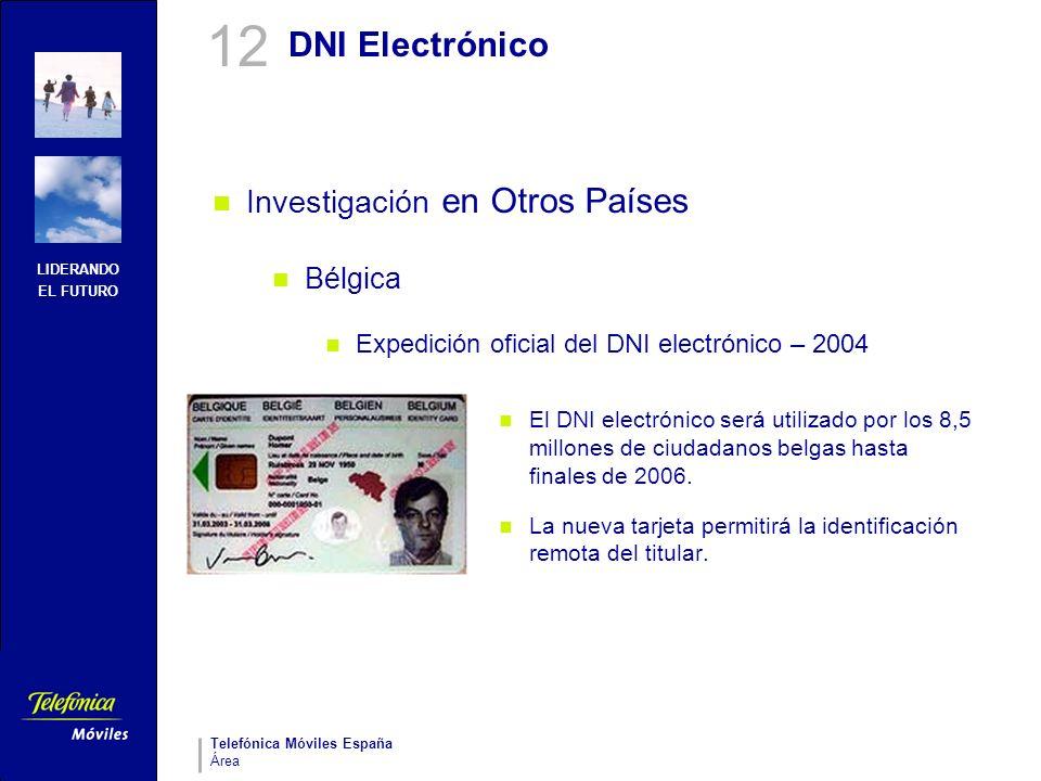 12 DNI Electrónico Investigación en Otros Países Bélgica