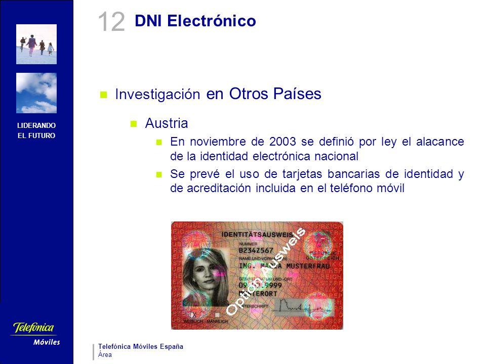 12 DNI Electrónico Investigación en Otros Países Austria