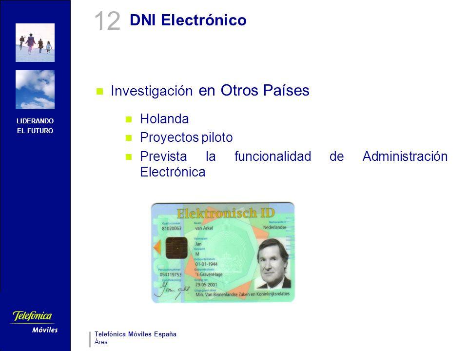 12 DNI Electrónico Investigación en Otros Países Holanda