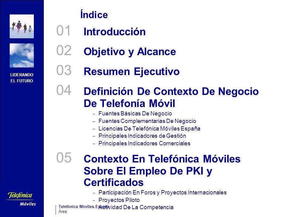 04 Definición De Contexto De Negocio De Telefonía Móvil