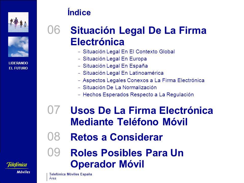 06 Situación Legal De La Firma Electrónica