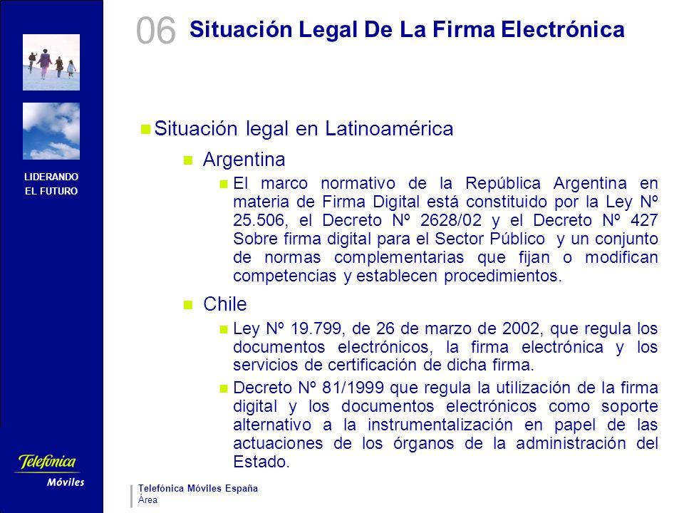 Situación Legal De La Firma Electrónica