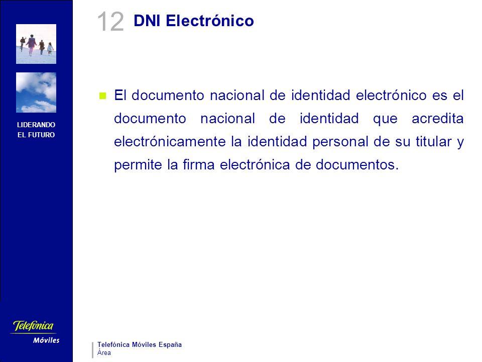 12 DNI Electrónico.