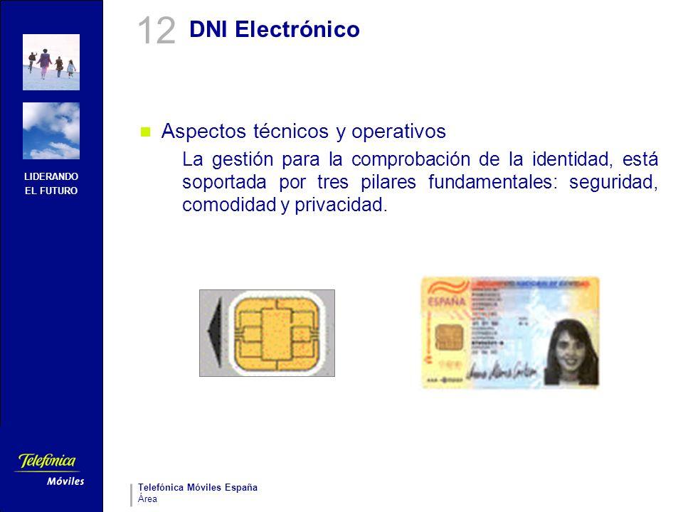 12 DNI Electrónico Aspectos técnicos y operativos