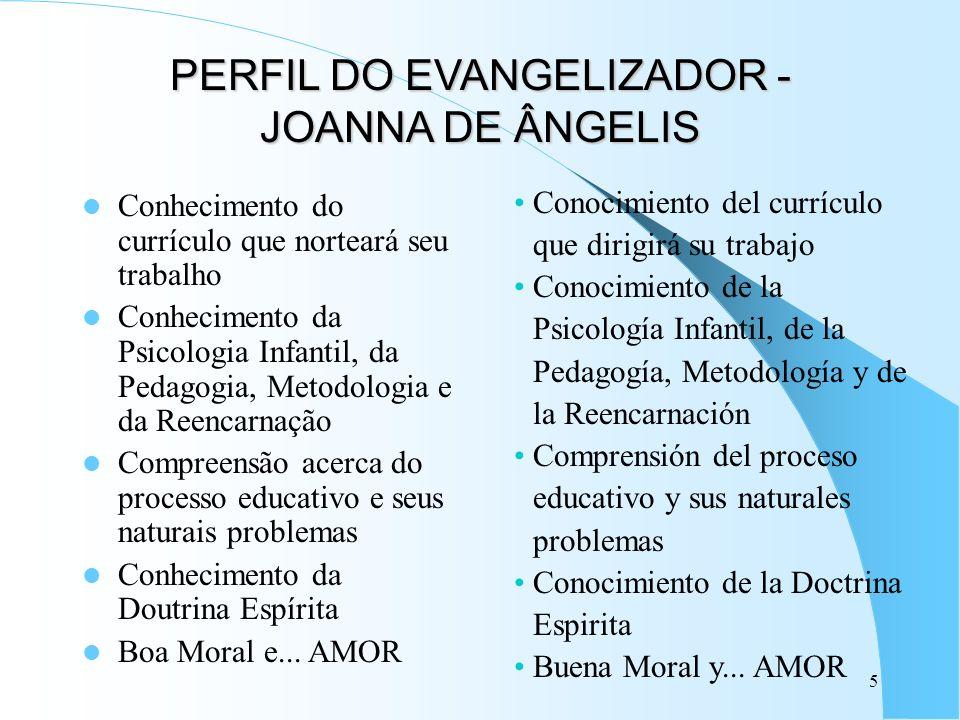PERFIL DO EVANGELIZADOR - JOANNA DE ÂNGELIS