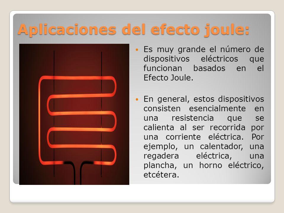 Efectos de la corriente el ctrica ppt descargar - Calentadores electricos cuadrados ...