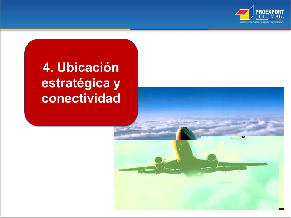 4. Ubicación estratégica y conectividad