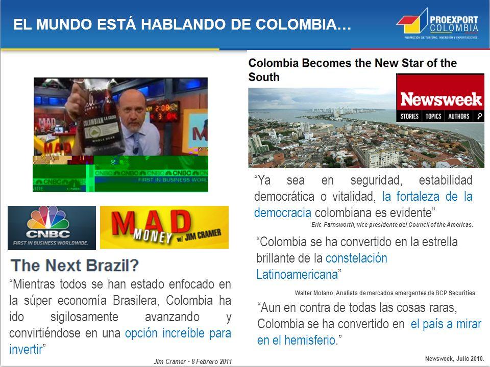 EL MUNDO ESTÁ HABLANDO DE COLOMBIA…