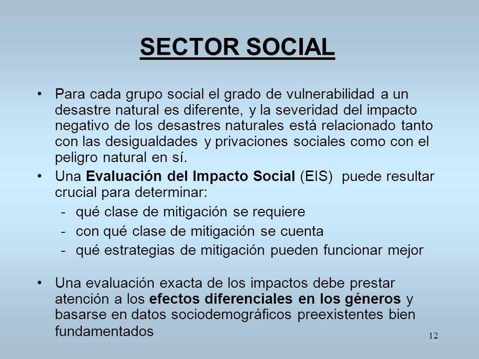 SECTOR SOCIAL