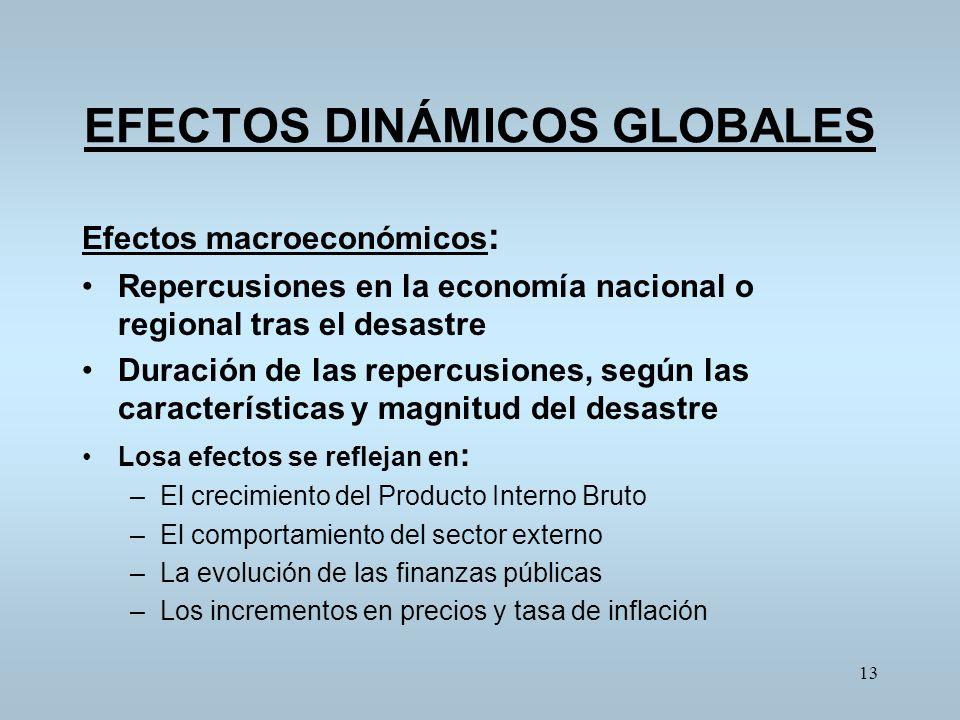 EFECTOS DINÁMICOS GLOBALES