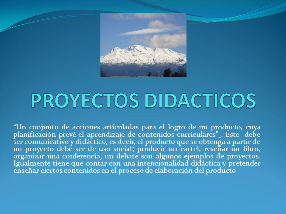 PROYECTOS DIDACTICOS