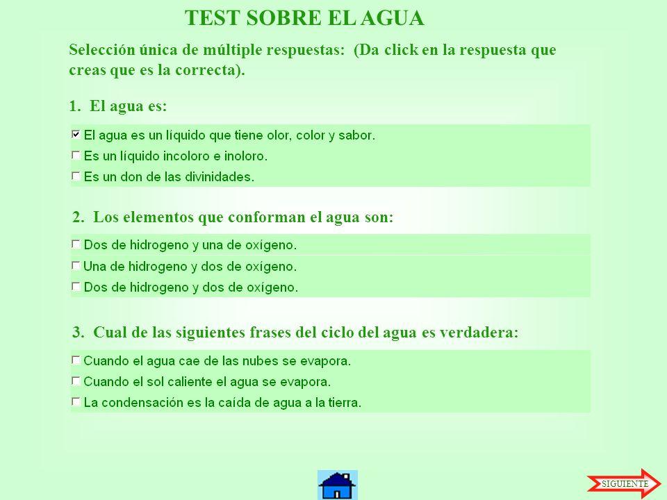Perfecto La Hoja De Respuestas Del Ciclo Del Agua Festooning - hojas ...