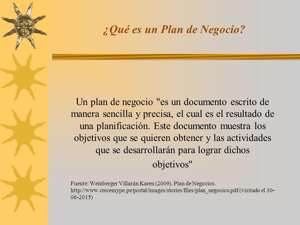 Estructura de un plan de negocio ppt descargar for Plan de negocios ejemplo pdf