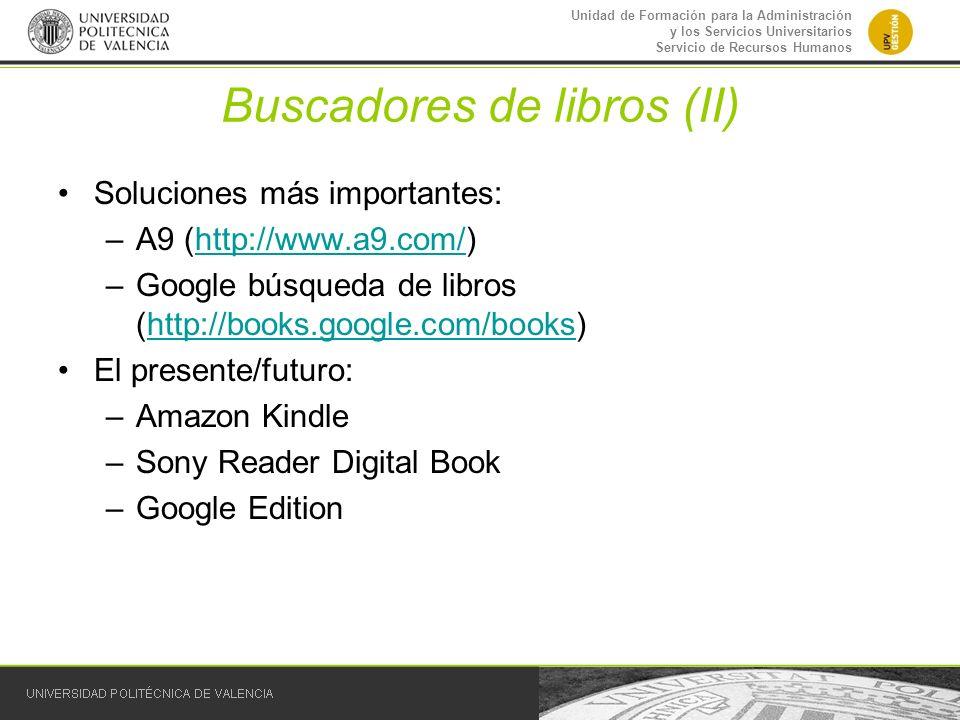 Buscadores de libros (II)