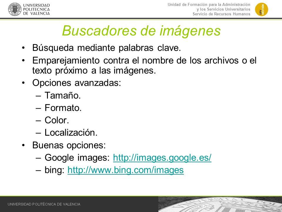 Buscadores de imágenes