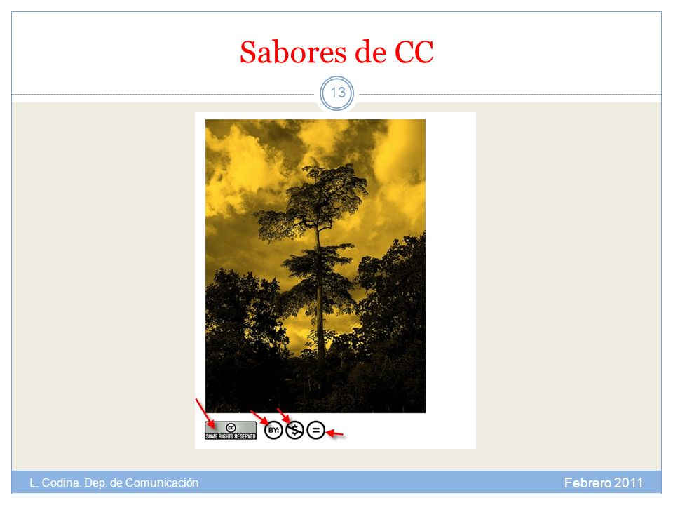 Sabores de CC L. Codina. Dep. de Comunicación Febrero 2011