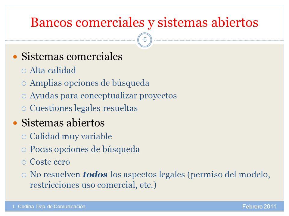 Bancos comerciales y sistemas abiertos