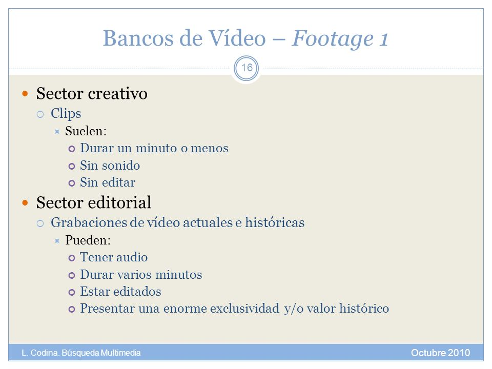Bancos de Vídeo – Footage 1