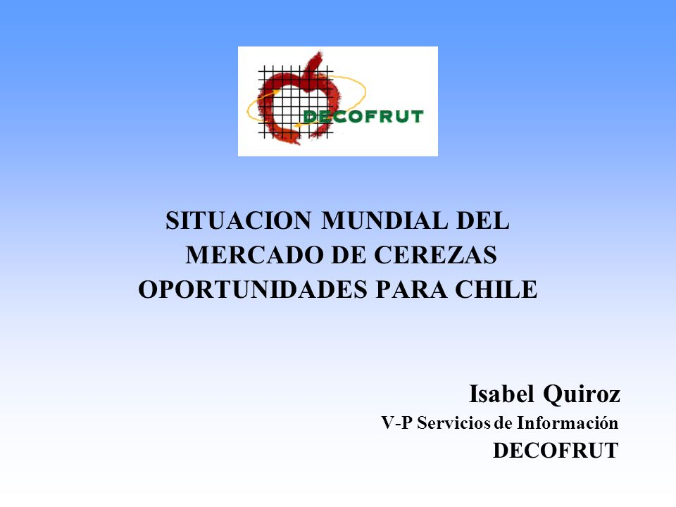 OPORTUNIDADES PARA CHILE
