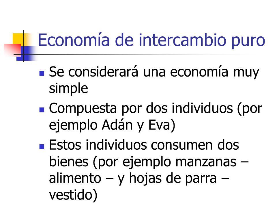 Economía de intercambio puro
