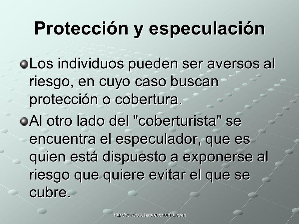 Protección y especulación