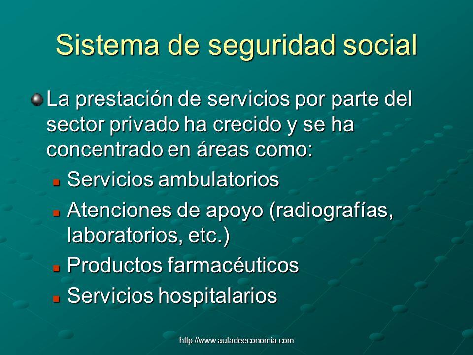 Sistema de seguridad social