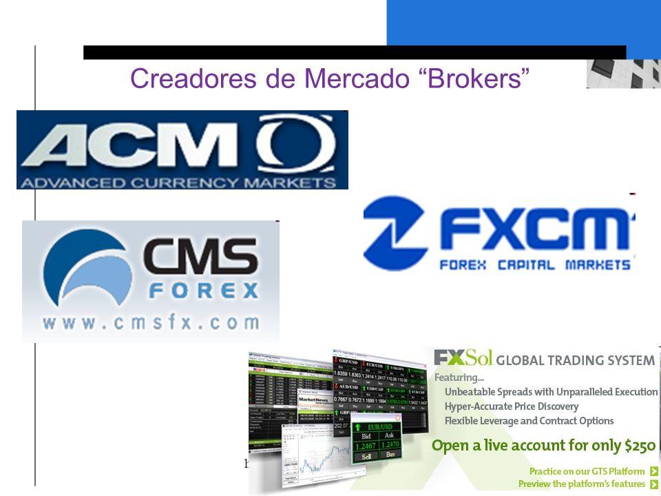 Creadores de Mercado Brokers