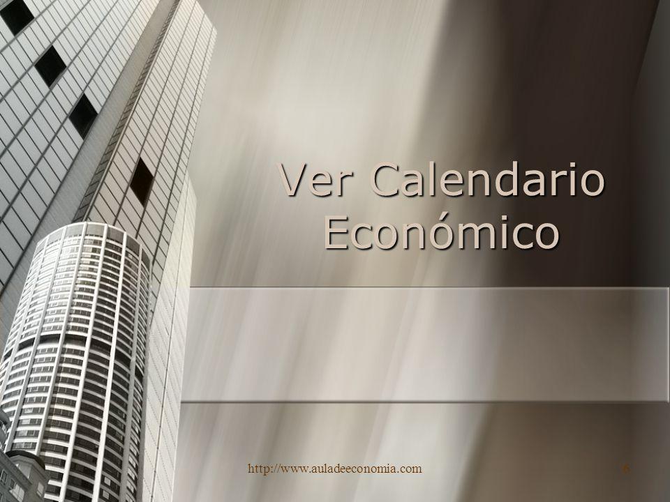 Ver Calendario Económico
