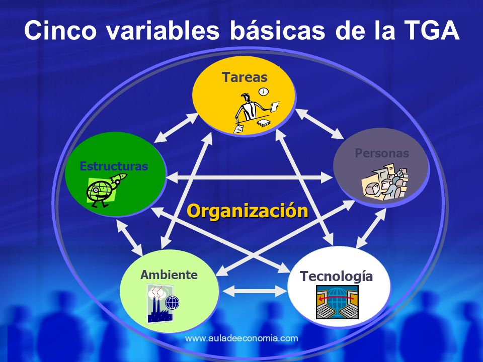 Cinco variables básicas de la TGA