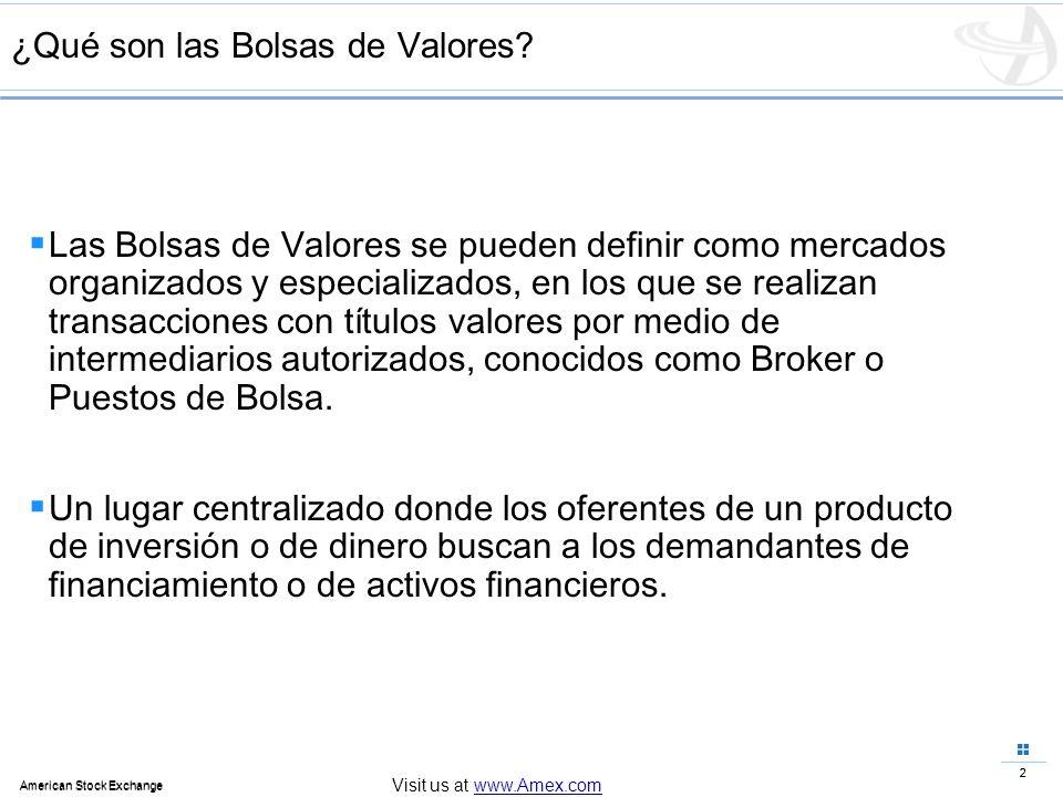 ¿Qué son las Bolsas de Valores