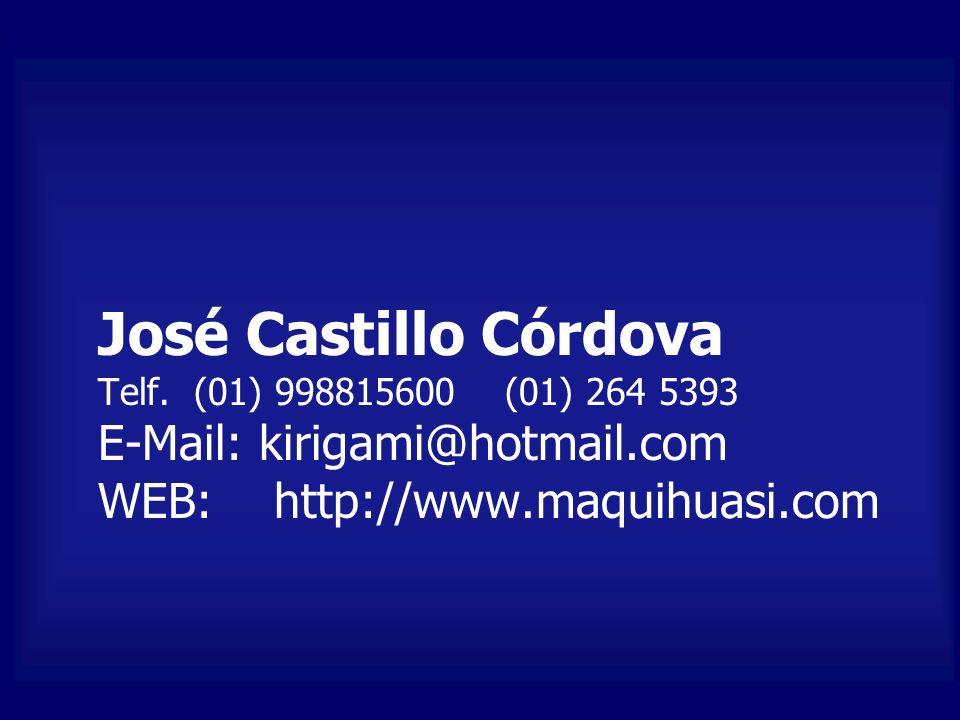 José Castillo Córdova Telf