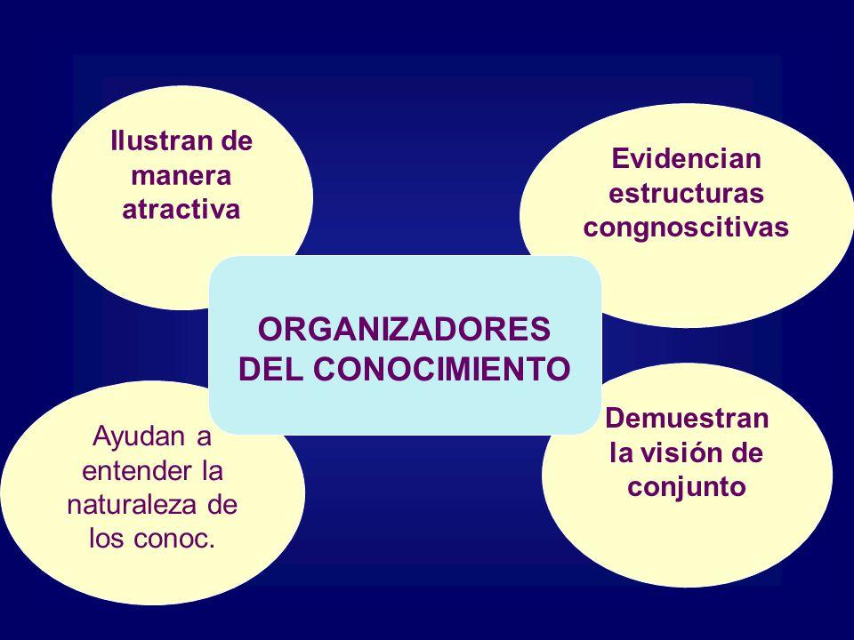 ORGANIZADORES DEL CONOCIMIENTO