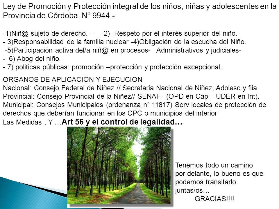 Provincia de Córdoba. N° 9944.-
