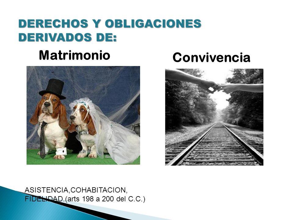 Matrimonio Convivencia