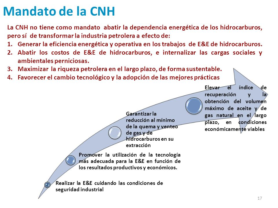 Mandato de la CNH
