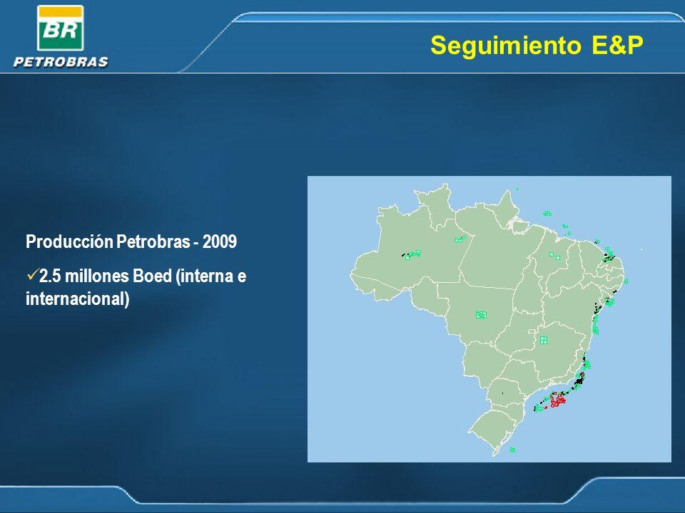 Seguimiento E&P Producción Petrobras - 2009