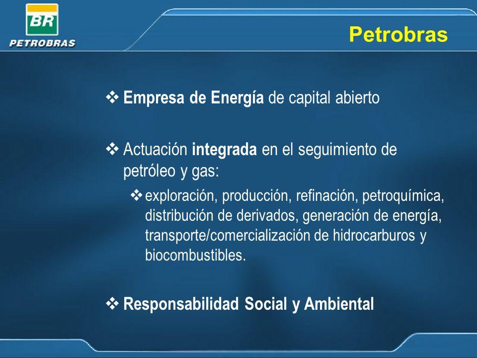 Petrobras Empresa de Energía de capital abierto