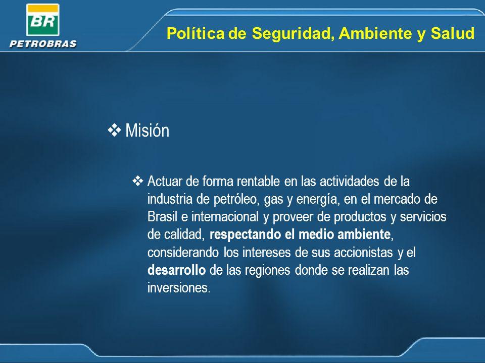 Misión Política de Seguridad, Ambiente y Salud