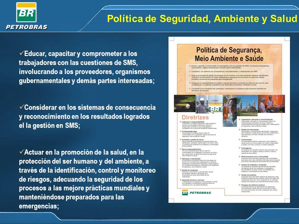 Política de Seguridad, Ambiente y Salud