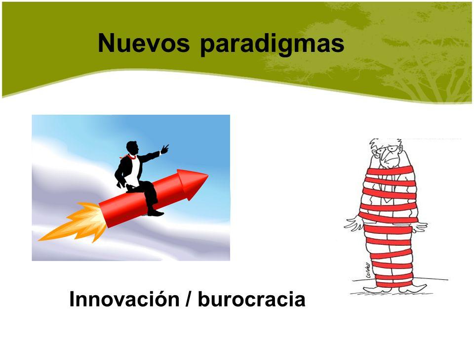 Innovación / burocracia
