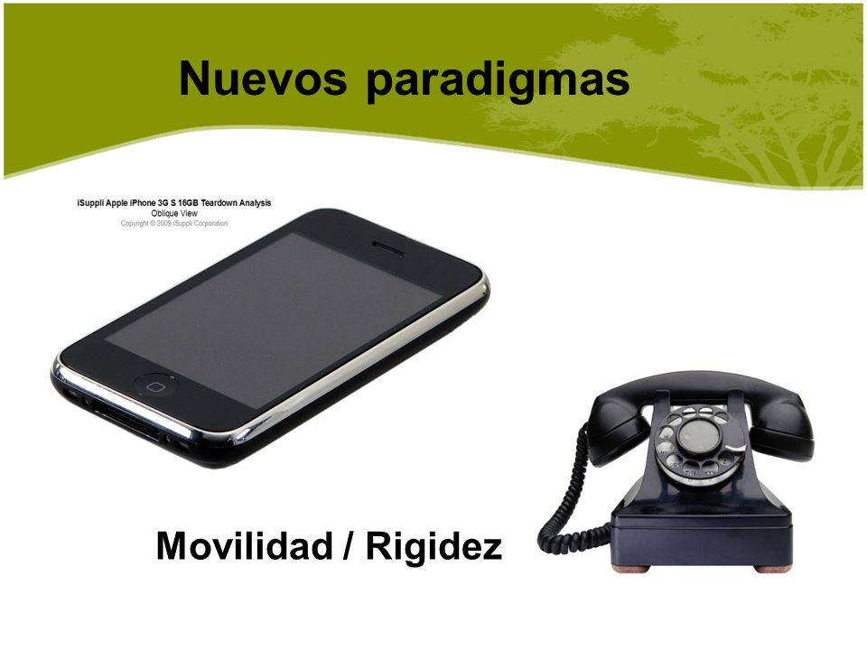 Nuevos paradigmas Movilidad / Rigidez P.Y.OOI Nov 2009